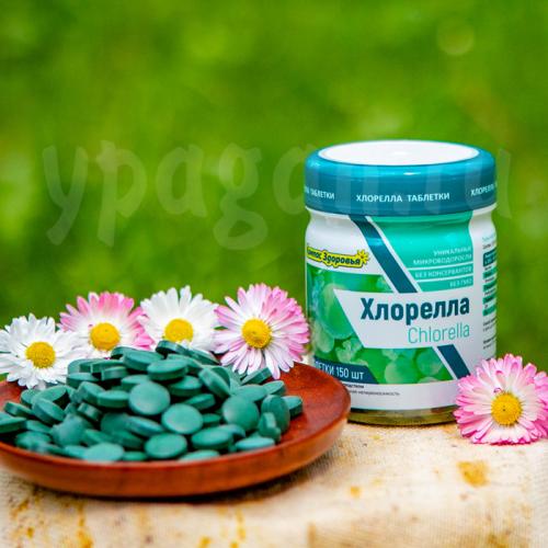 Хлорелла в таблетках