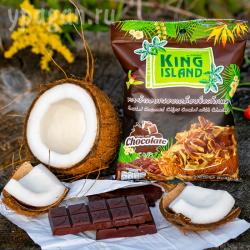 Кокосовые чипсы с шоколадом
